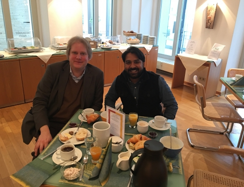 Meeting with Dr. Thomas Würtz (Catholic Academy in Berlin)