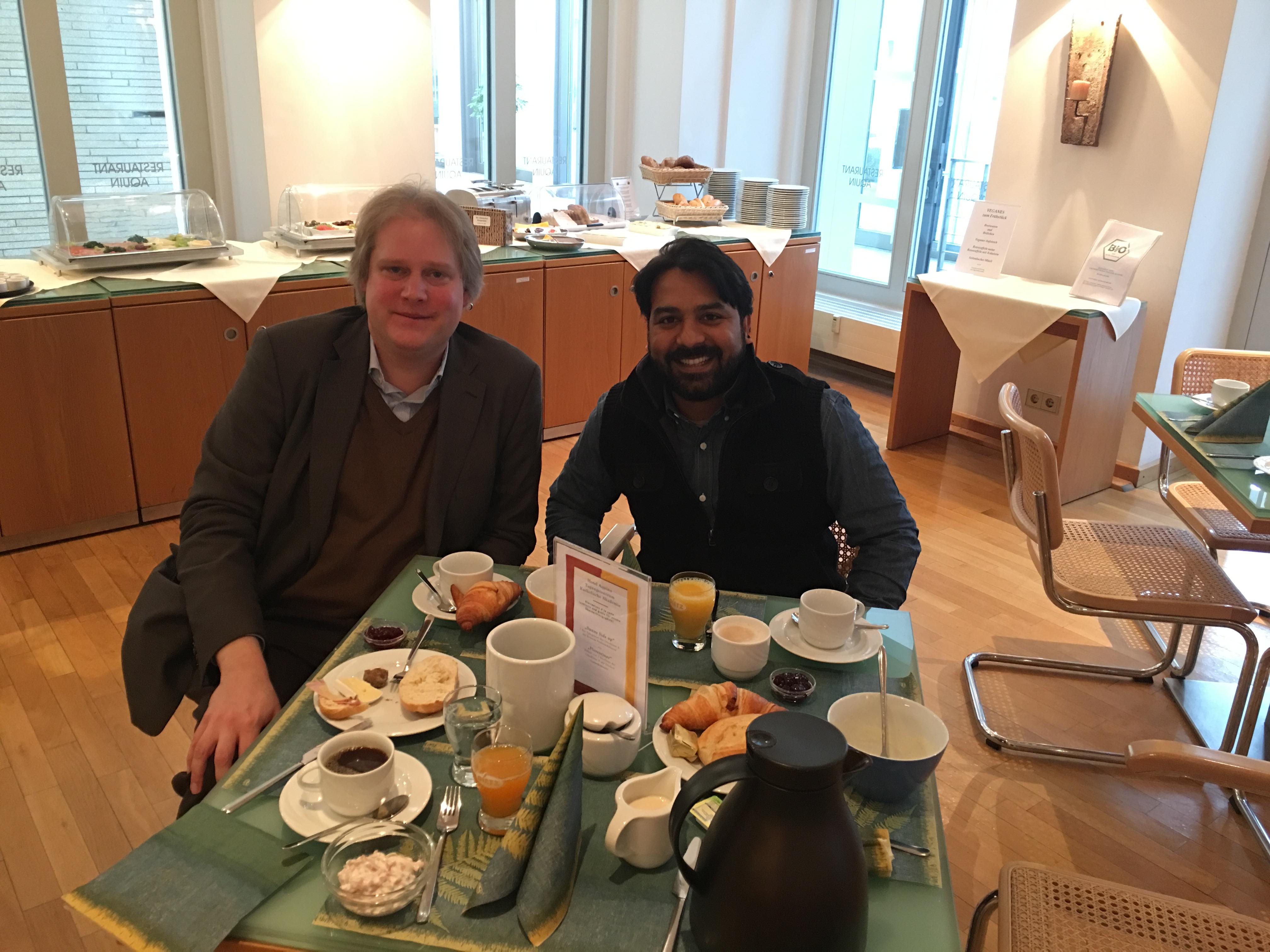 Meeting with Dr. Thomas Würtz (Catholic Academy in Berlin)