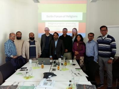Treffen im Goethe-Institut