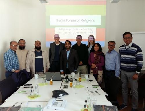 Interreligiöser Dialog in Berlin: Austausch im Goethe-Institut