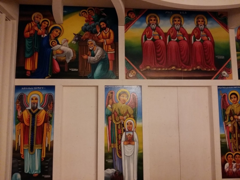 Haus der Religionen: Kirche