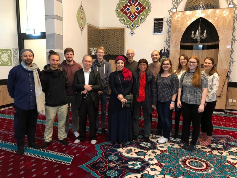 Haus der Religionen: Moschee