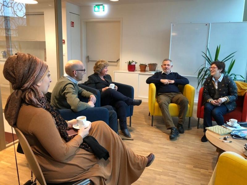 Haus der Religionen: Austausch mit Hartmut Haas