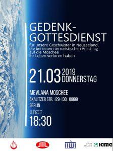 Für Berlin – für Christchurch – für unsalle