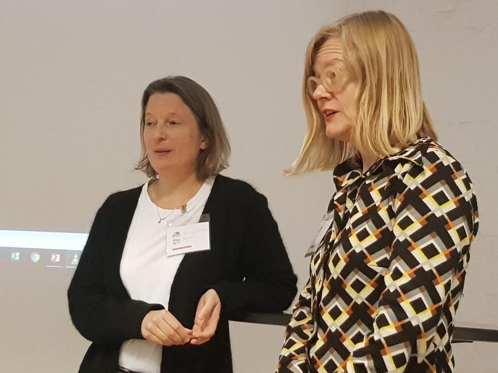 Gunilla Jähnichen und Tine Steen