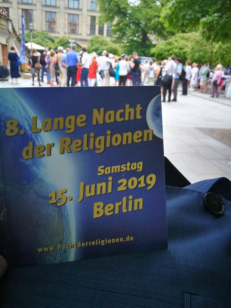 """8. Lange Nacht der Religionen in Berlin zelebriert das """"Wasser des Lebens"""""""