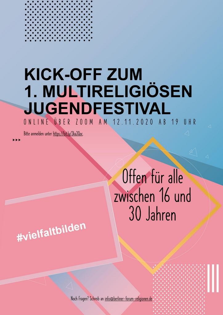 Kick-Off-Event für das 1. Multireligiöse Jugendfestival Berlin