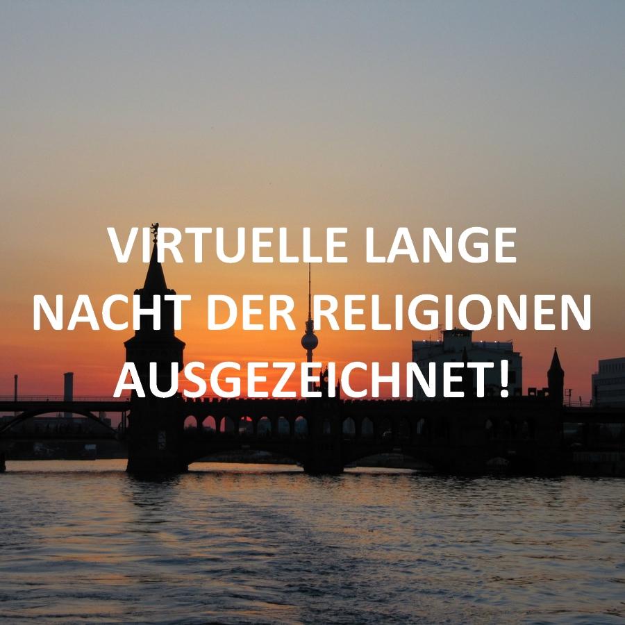 Lange Nacht der Religionen vom Bündnis für Demokratie und Toleranz ausgezeichnet