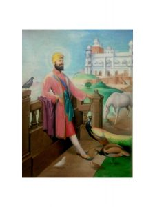 Grüße von Ranjit Kaur zu Sri Guru Gobind Singh jis Geburtstag