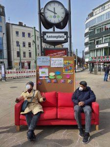 Aktionswochen gegen Rassismus am Antonplatz