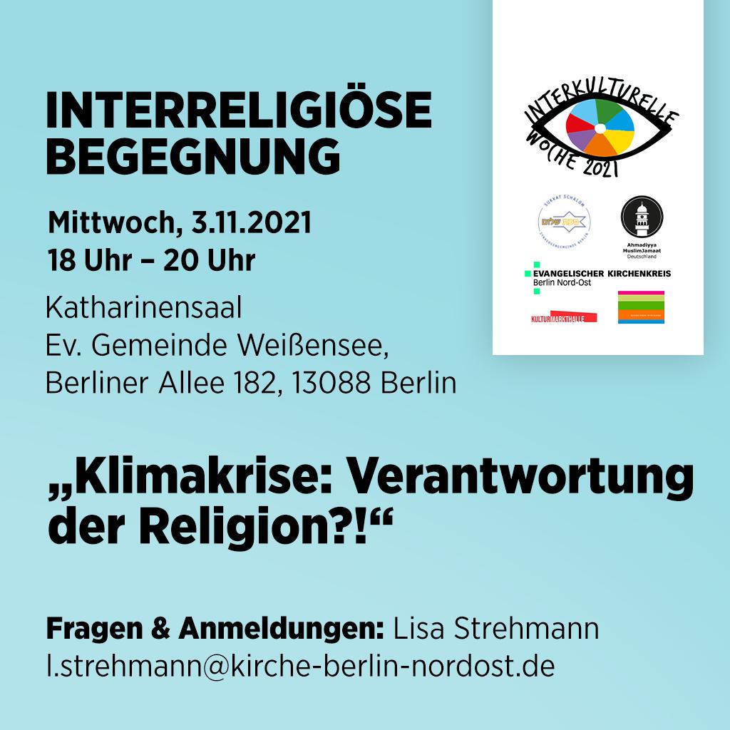 You are currently viewing Klimakrise: Verantwortung der Religion?!