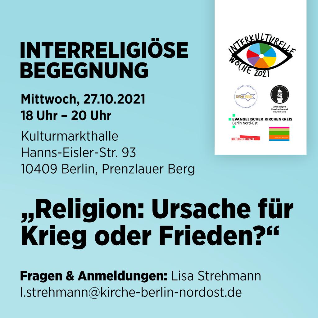 You are currently viewing Religion: Ursache für Krieg oder Frieden?